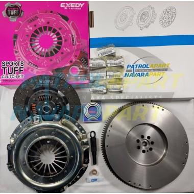HD Clutch Kit suits Nissan Patrol GU Y61 ZD30 with Solid Flywheel