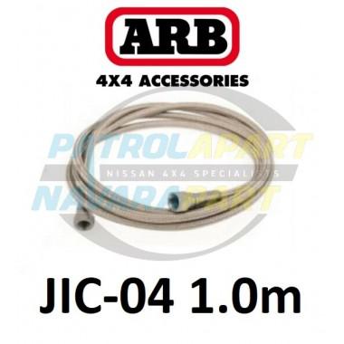 ARB Stainless Braided Air Hose 1.0m 1/4