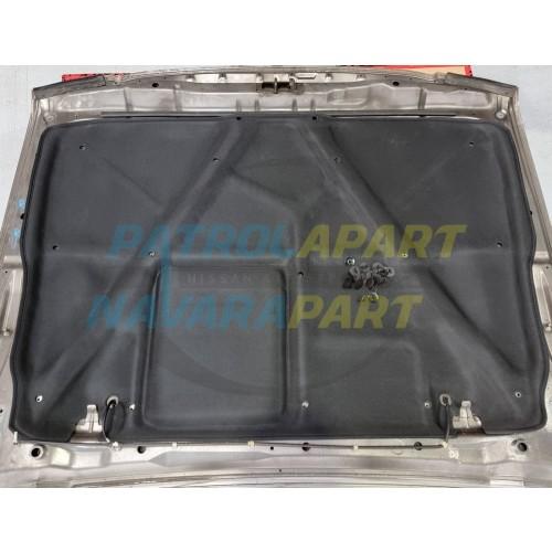 Under Bonnet Insulator with Clips fits Nissan Patrol GU Y61 Series 1-3 Models