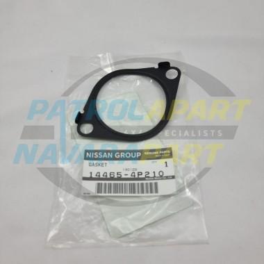 Genuine Nissan Patrol GU Y61 RD28 Inlet Gasket Front of Turbo