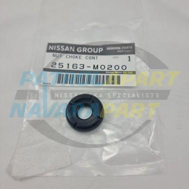 Genuine Nissan GQ GU Patrol Hand Throttle Idle Control Knob Nut