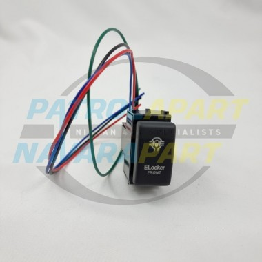 E-Locker Front Diff Lock Switch suits Nissan Patrol Y62 Dash