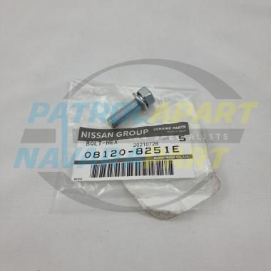 Genuine Nissan Patrol GQ Y60 GU Y61 TD42 Inlet Manifold Bolt