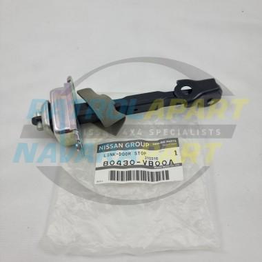 Genuine Nissan Patrol GU Y61 Front Door Check Strap