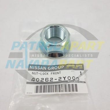 Genuine Nissan Patrol Y62 Front Wheel Bearing Hub Lock Nut