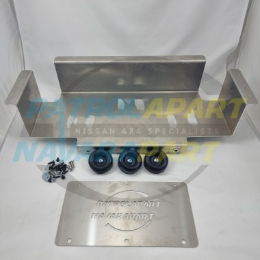 Under False Floor AGM Style Battery Tray for Nissan Patrol Y62