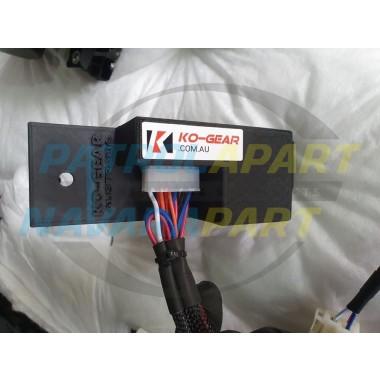 KO Gear Rear Diff Lock Override System V3 for Nissan Patrol Y62