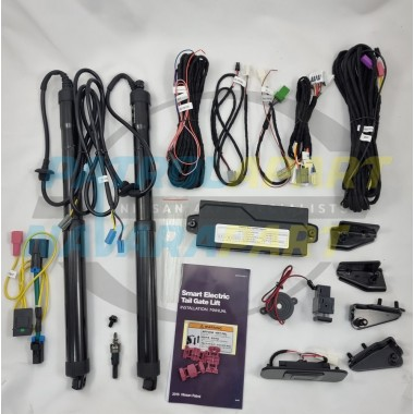 Electric Tailgate Lift kit fits Nissan Patrol Y62 models Plug and Play