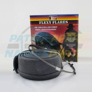 Bushranger Flexy Flexi Flares 65mm Suit 4x4 4WD Nissan Patrol
