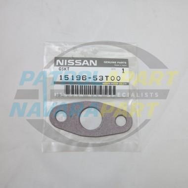 Genuine Nissan Patrol GU TD42T Turbo Oil Drain Gasket