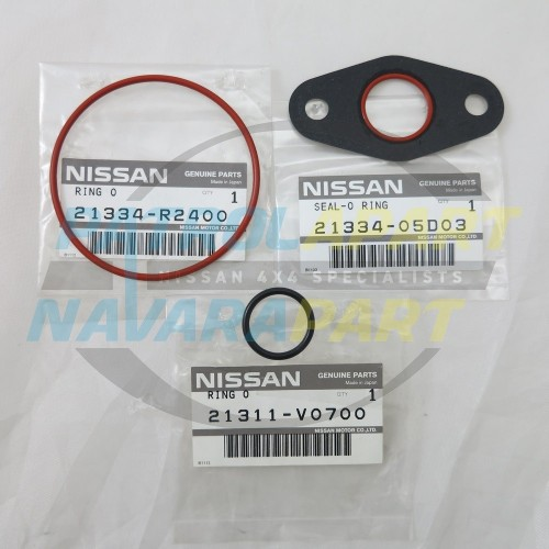 Genuine Nissan Patrol GQ Gasket Set Oil Cooler TB42 EFI