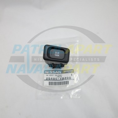 Nissan Patrol GU 123 Genuine Sub Tank Switch