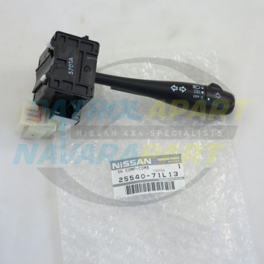 Genuine Headlight Combination Switch Stalk For GQ S2 2 Plugs