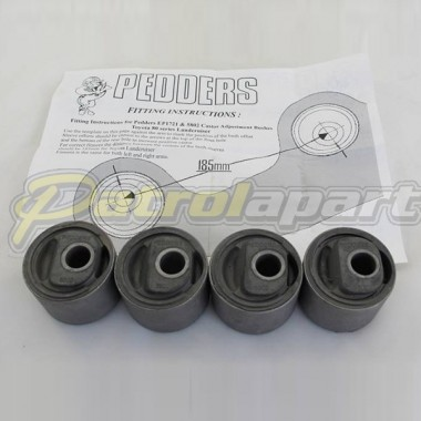 Nissan Patrol GQ GU Radius Arm Castor Correction Bushes **Rubber**