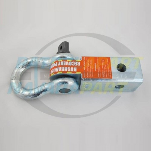 TOW BAR Recovery Hitch 5T Rating with 4.75T Bow Shackle for 4WD 4x4