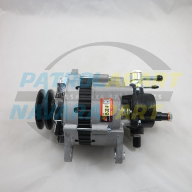 Nissan Patrol GQ TD42 Diesel Alternator 70amp with Vac Pump