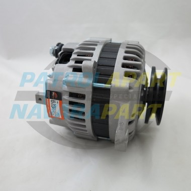 125Amp Alternator suit Nissan Patrol GU and GQ TD42 No Vac pump