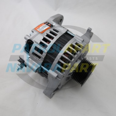 Nissan Patrol Alternator 100Amp GU ZD30 with Fixed Pulley