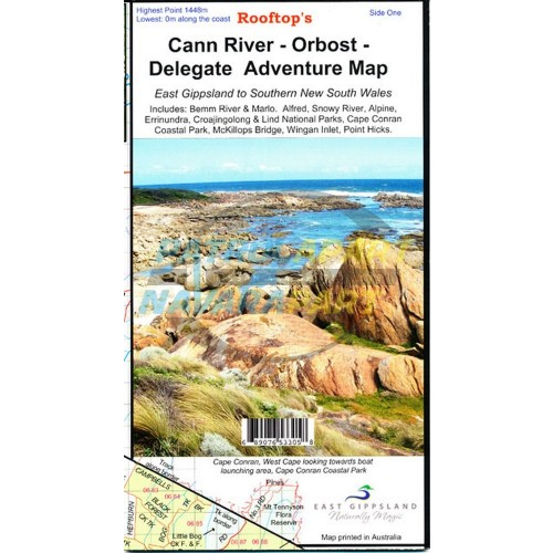 Cann River - Orbost - Delegate Rooftop Adventure Map