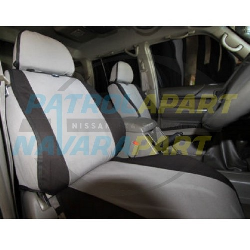 MSA Canvas Seat Covers LC70 Cab Chassis front bucket & 3/4 bench