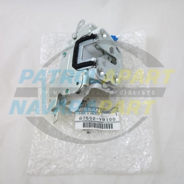 Genuine Nissan Patrol GU Drivers Door Lock Mechanism