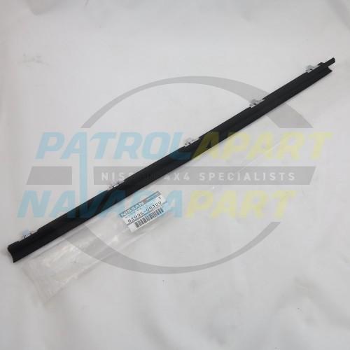 Genuine Nissan Patrol GQ Weatherstrip LHR Inner