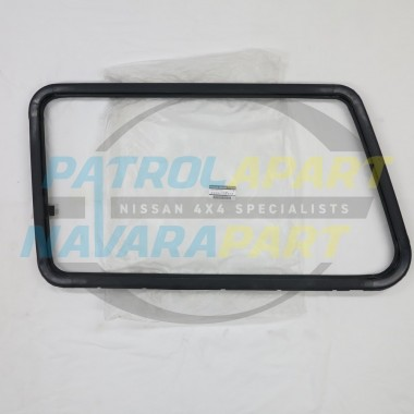 Nissan Patrol GQ LWB Genuine Left Hand Sliding Window Frame