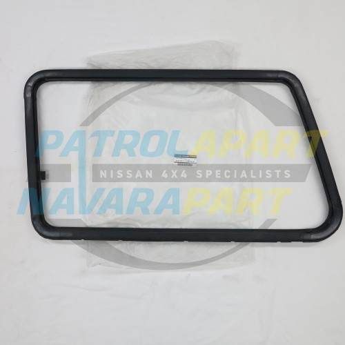 Nissan Patrol GQ LWB Genuine Left Hand Sliding Window Frame