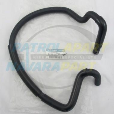 Nissan Patrol GU TD42 Genuine Heater Hose Inlet Long