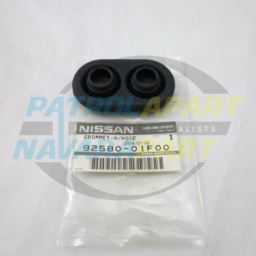 Genuine Nissan Patrol GQ Firewall Grommet for Heater Pipes