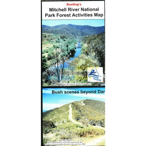Mitchell River National Park Forest Activities Rooftop Map