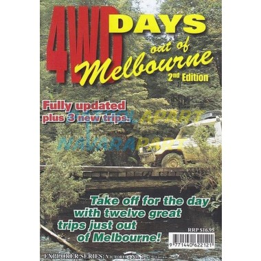 Map 4wd Days out of Melb