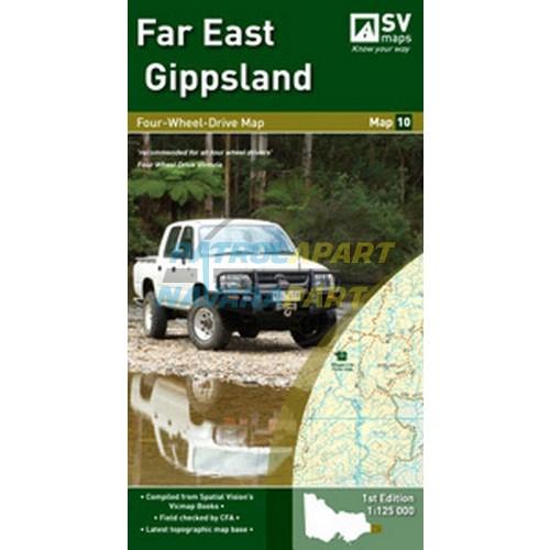 Far East Gipplsand Spacial Vision Map