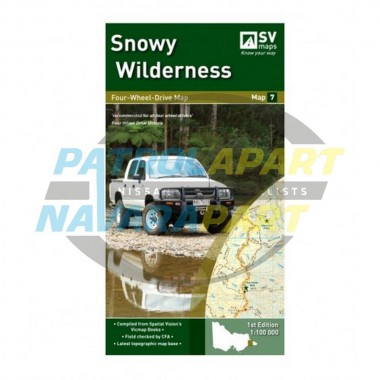 Snowy Wilderness Spatial Vision Map