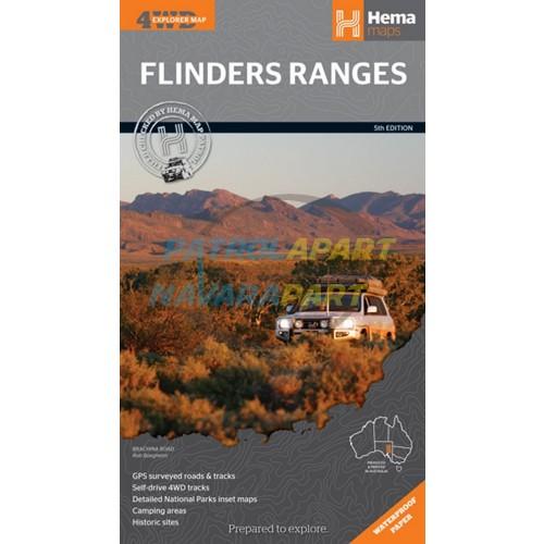 Flinders Ranges South Australia Hema Map