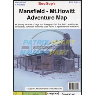 Map Mansfield Mt Howitt Rooftop Adventure Map