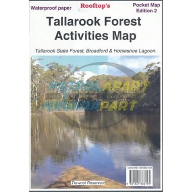 Map Tallarook Rooftop Forest Activities Map
