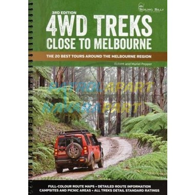 Map Book 4wd Treks Close to Melbourne