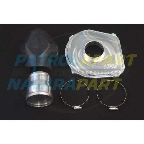 HPD High Flow GU TD42T Diesel AirBox Lid - Billet Aluminium