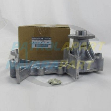 Genuine Nissan Patrol Y60 GQ RB30 Water Pump