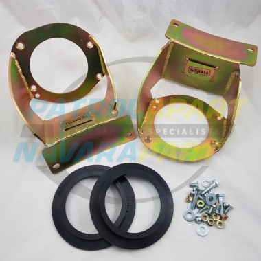 Nissan Patrol GQ GU BOSS Bolt In DIY Rear Coil Tower Brace Kit