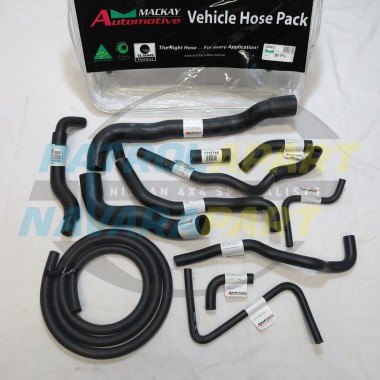 Mackay Heater / Radiator Hose kit for GU Patrol TB45