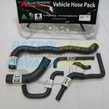 Mackay Heater / Radiator Hose kit Petrol GQ Patrol TB42 Carby