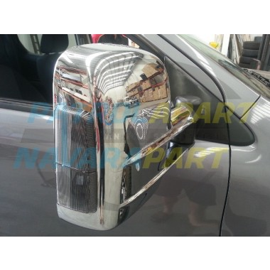 Clearview Mirror BT50 Chrome with indicators