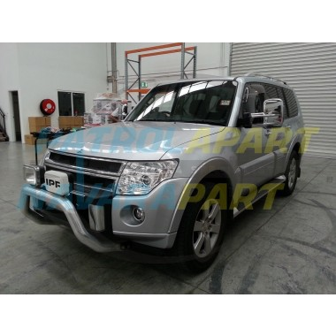 Clearview Mirror Assembly Suit NT Pajero in Chrome