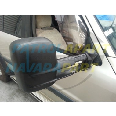 Clearview ELECTRIC Mirror Assembly Suit Nissan Patrol GU Patrol in Black