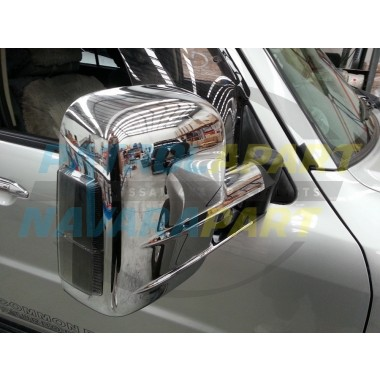 Clearview Mirror Assembly Suit GU Patrol in Chrome