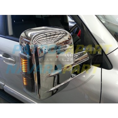 Clearview Mirror 200 Series Chrome with indicators