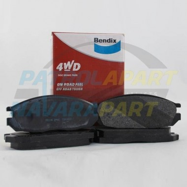 BENDIX 4WD Brake Pad Rear Nissan Patrol GQ & Maverick