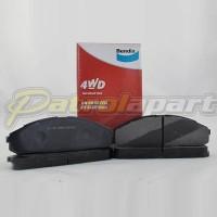 BENDIX 4WD Brake Pad Front TB42 EFI Nissan Patrol GQ Y60